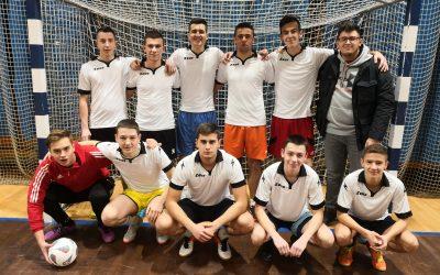 Naši nogometaši na prvenstvu ljubljanskih srednjih šol – 16. 1. 2019