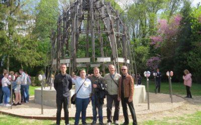 Odprtje skulpture projekta Erasmus+: STEAM v Bruslju