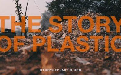 "Vabilo k ogledu filma ""The story of plastic"""
