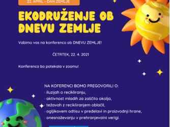 Svetovni dan Zemlje, 22. 4. 2021