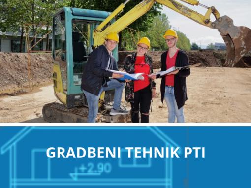Gradbeni tehnik PTI