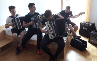 Glasbeni tabor v Planici – 12.-14. 4. 2019