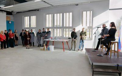 Slavnostna otvoritev novih šolskih delavnic