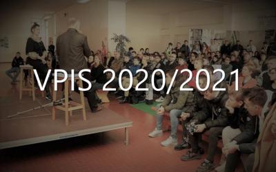 NOVI DATUMI za vpis novincev v 1. letnik v šol. letu 2020/21